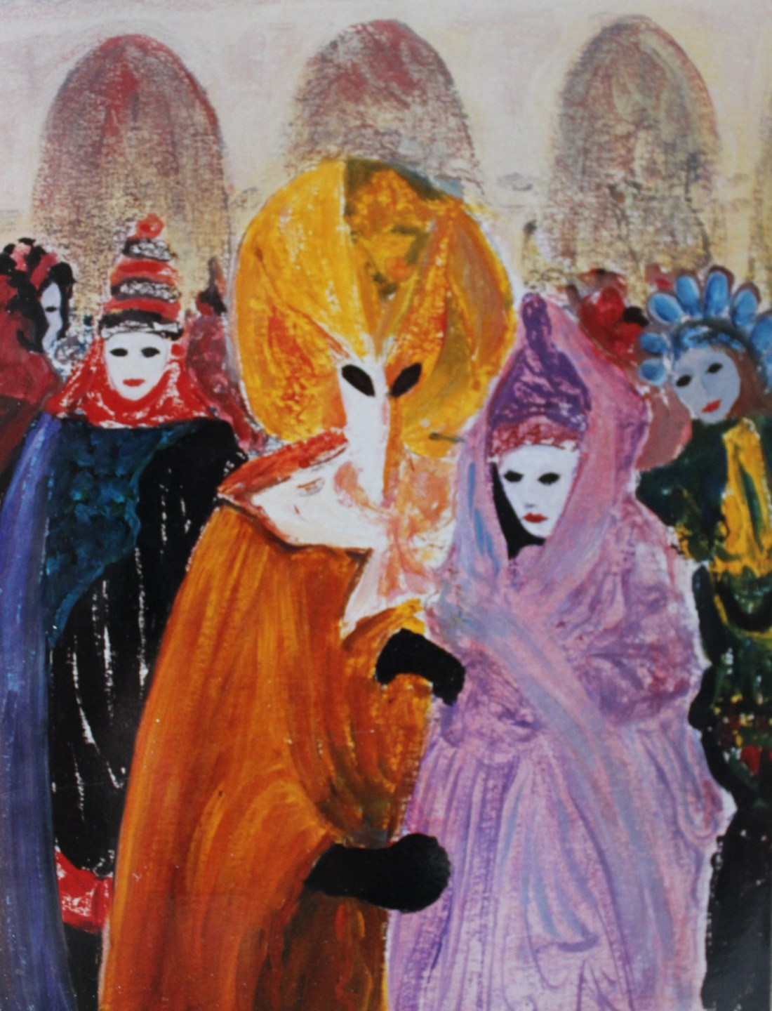 Carnival Venice oil 30x40.JPG available