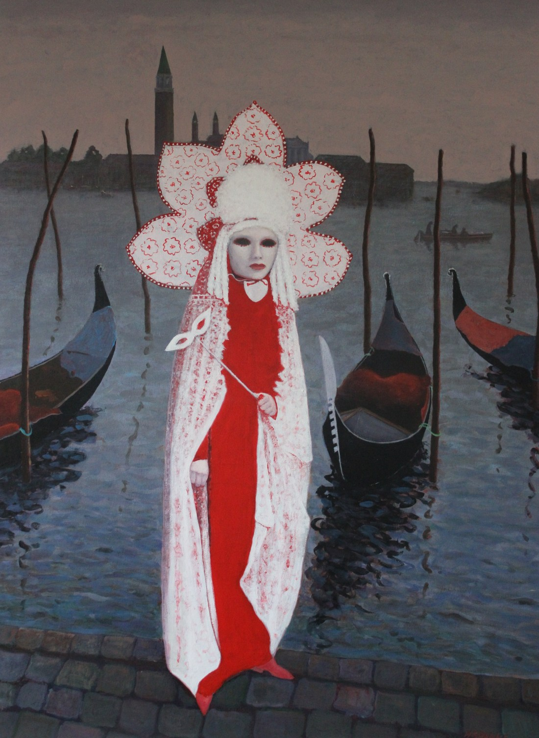 Carnivale Time Venice acrylic 90x120.JPG