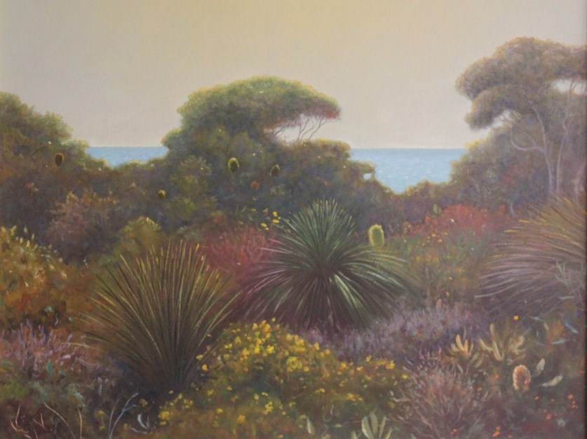 Coastal Wildflowers oil 71x61