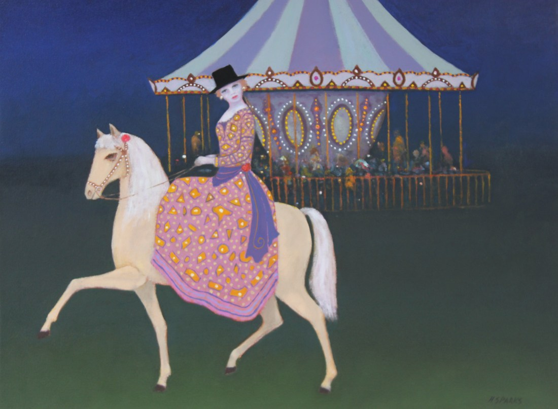 Escape from the Carousel oil 75x60