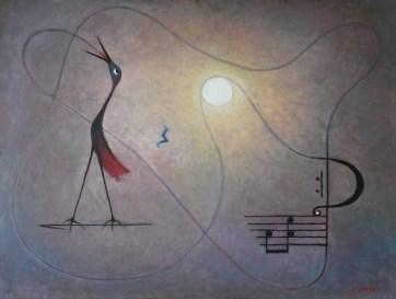 Morning Song Medium: oil Size: 75x100cm