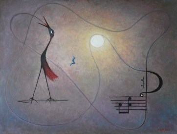 Morning Song Medium: oil Size: 75x100cm