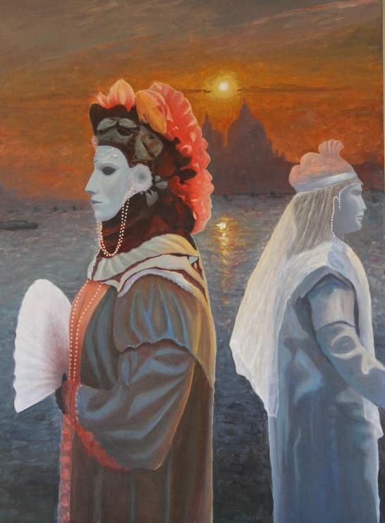 Venetian Fantasy Medium: acrylic Size: 85x115 cm